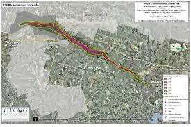 Killeen Texas Map Tornado Hazard Scenario Acs Map Portfolio