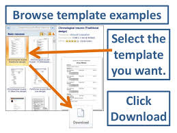microsoft resume templates 2010 accessing resume templates in word microsoft word 2010 resume