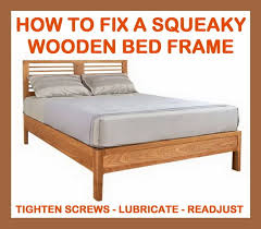 my futon sinks in the middle how to fix a squeaky wooden bed frame removeandreplace com
