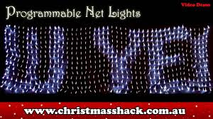 programmable net lights