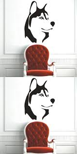 best natural wall stickers ideas pinterest tree decals vinyl wall stickers wolf husky dog predator nature tribal animal decals free dropping shipping wholesale home decoration