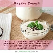 Yogurt Untuk Masker Wajah manfaat yoghurt heavenly blush untuk kulit wajah jual masker alami