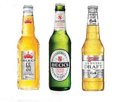 light beer calories list comparison of low calorie beer and light beer popsugar fitness