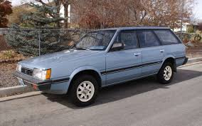 subaru loyale offroad 4wd 5 speed no rust 1986 subaru gl wagon
