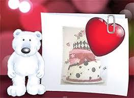 imagenes de feliz cumpleaños amor animadas tarjeta de cumpleaños adjunto todo mi amor a esta tarjeta no