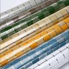 Self Adhesive Wallpaper by Glitter Mosaic Designs Self Adhesive Wallpaper Bathroom Adhesive