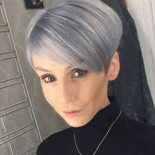 funky hairstyle for silver hair 25 cute balayage styles for short hair popular haircuts