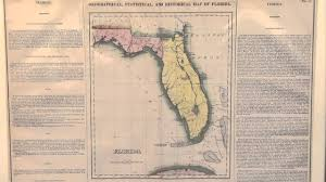 Map Of Flirida Geographical Statistical And Historical Map Of Florida Youtube