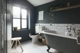 Bathroom With Black Walls Choosing A Light Or Dark Bathroom Colour Scheme For A Small Space