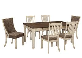 Dining Room Discount Furniture Cp Rivers Discount Furniture Bolanburg Antique White Rectangular