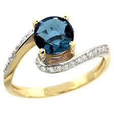 topaz gemstone rings images 10k yellow gold diamond jewelry color gemstone rings london blue topaz jpg