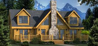 collections of stone and log house plans free home designs