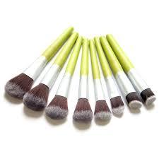 korean make up brush set bamboo handle makeup set makeup makeup