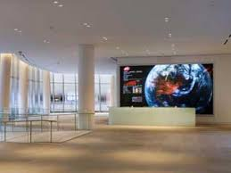 Reception Desk With Display Corporate Lobbies The New Landscape Of Digital Signage
