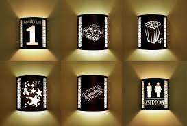 home theater lighting from stargate cinema theater wall sconce