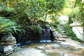 back yard patio landscaping ideas backyard waterfall ideasinterior