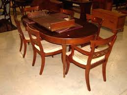 dining table drexel heritage dining room table and chairs drexel
