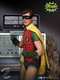 exclusive first look burt ward robin in all his painted glory