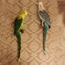 buy wall decorative parrot garden and get free shipping on