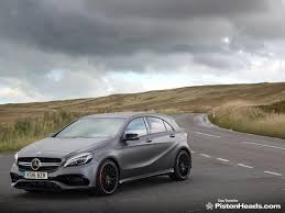 mercedes a45 mercedes amg a45 facelift review pistonheads