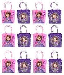 12pcs disney princess sofia the first goodie bags party favor bags