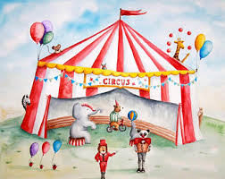 chambre cirque thème du cirque etsy