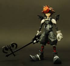halloween collectible figurines amazon com kingdom hearts 2 play arts halloween town sora figure