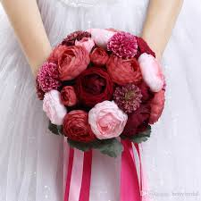 wedding flowers cheap 2017 handmade flowers cheap wedding bouquets bouquet de mariage
