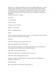 Sample Resume Objectives For Freshers by Job Resume Samples For High Students Splixioo