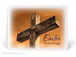 easter greeting cards religious religious cross easter greeting cards 10528 harrison greetings