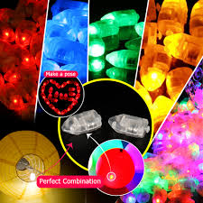aliexpress com buy 50pcs lot christmas mini led balloon lamp