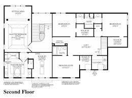 Traditional Floor Plan Trotters Glen The Henley Home Design