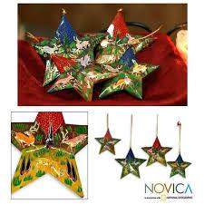 set of 4 weeping willow wood reindeer garden ornaments india
