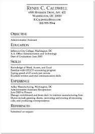 resume templates for college students internships sle student