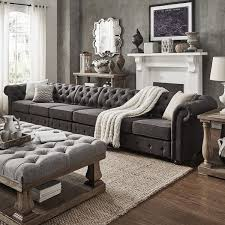 Neutral Sofa Decorating Ideas by Best 25 Oversized Couch Ideas On Pinterest Small Lounge