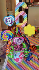 My Little Pony Party Centerpieces by My Little Pony Centerpiece My Little Pony Party Decor