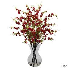 Floral Arrangement Cherry Blossoms And Vase Floral Arrangement Free Shipping Today