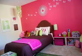 decoration ideas fantastic kids bedroom interior with pink