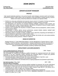 Assistant Manager Sample Resume by Account Manager Resume Sample Resume Template 2017