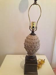 Table Lamps Without Shades Beautiful Carved Pineapple Table Lamp 24 Without Shade Wood