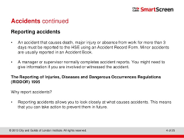 accident reporting book accidents and emergency reporting procedures and documentation and u2026