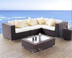 Rattan Garden Furniture Aliexpress Com Buy Garden Furniture Rattan Garden Sofa Outdoor