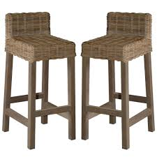 cool rattan bar stool high def decoreven