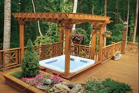 Backyard Deck Design Ideas Fascinating Backyard Deck Designs Ideas For Patio Space Timber