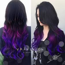 purple hair extensions purple series colorful clip in c022 c022 vpfashion