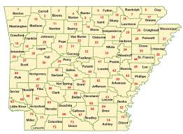 State Of Arkansas Map by Wims County Id Maps
