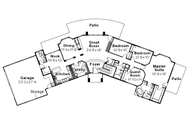 southwest floor plans southwest house plans estefan 30 125 associated designs