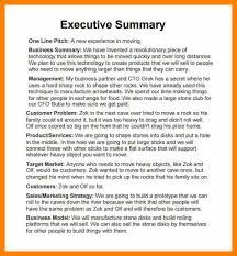 template for summary report 8 executive summary report exle homed