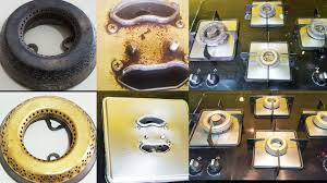 Kitchen Hacks by How To Clean Gas Stove Top Kitchen Hacks By Madhurasrecipe