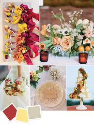 15 wedding color themes trending ghana ahenpon
